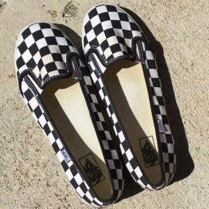 vans kvd checkerboard black white